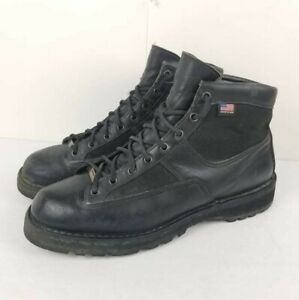 """DANNER Men's Patrol 6"""" Black Leather Boots 25200 size 11.5 D MADE IN USA"""