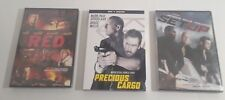 Bruce Willis Movies Lot Of 3 DVD Movies Set Up_Red_Precious Cargo