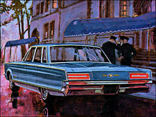 1966 Chrysler New Yorker sedan, Refrigerator Magnet, 40 MIL
