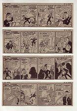 Li'l Abner by Al Capp - Hillbilly humor - 19 daily comic strips from August 1960