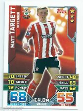 2015 / 2016 EPL Match Attax Base Card (222) Matt TARGETT Southampton
