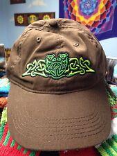 Grateful Dead Dancing Bear Slipknot Celtic Baseball Hat on Brown
