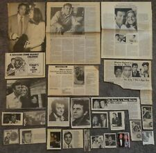 Nice MIKE CONNORS Clippings Mannix