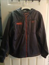 New with out tags cinch mens jacket XL with leather logo harris