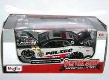 "MAISTO custom shop-Dodge Challenger ""police"" Rescue Force-modèle échelle 1:24"