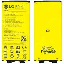 BATTERIA capacità ORIGINALE per LG G5 BL-42D1F 2800mAh H840 H850 H860 SE SMART