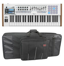 Arturia KeyLab 49 MIDI Keyboard w Software B-Stock W/ Kases 5KB Keyboard Bag