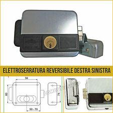 Serratura elettrica cancello Feb 5011/z elettroserratura dx sx tipo yale