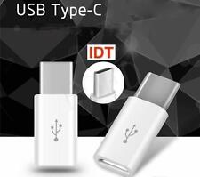 Type-C Male 3.1 To MICRO USB Female Converter USB-C Adapter White