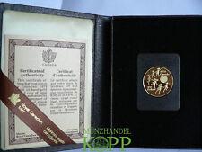 Aa1237) Canada 100 dollari Canada anno del bambino oro 1979