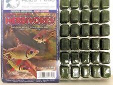 Premium Frozen Fish Food 5 x 100g packs-Herbivore mix with vitamins --FREE P&P