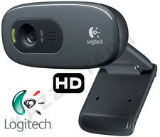 Logitech C270 HD 720p 3MP Webcam USB 2.0 clip-on video chiamata delle chiamate 1280x720 PC
