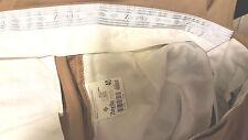 ZANELLA Mens Dress Pants 40x28  Tan solid  100% wool Pleated  ~Italy)