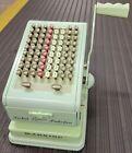 Vintage Paymaster Model 7000 Keyboard Style Checkwriter with 2 Original Keys