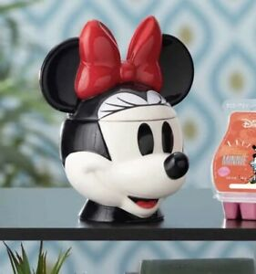 Scentsy Minnie Mouse Wax Warmer ~ New Style Disney Head Mickey Warmer- NEW!