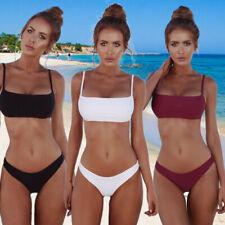 Bikini Swimsuit Women Two Piece Bathing Set Padded Push-up Swimwear Beachwear