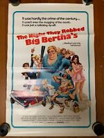 THE NIGHT THEY ROBBED BIG BERTHA'S, orig 1-sht / movie poster  (Robert Nichols)