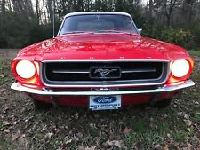 1967 Ford Mustang Chrome