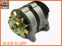 Brand New 18ACR 45 Amp Alternator, Pulley & Fan Fits CLASSIC MINI