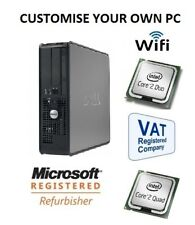 FAST DELL OPTIPLEX SPEC/CUSTOMISE YOUR OWN DESKTOP PC COMPUTER WINDOWS CHEAP PC