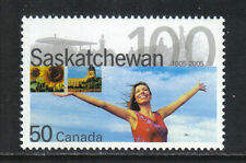 Canada 2005 Saskatchewan 100th Anniversary--Attractive Topical (2117) MNH