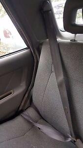 1996 ISUZU RODEO RIGHT PASSENGER SIDE REAR SEAT BELT RETRACTOR GREY 1995-1997