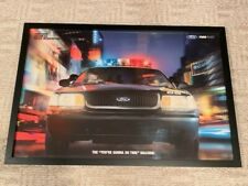 2004 Ford Police Crown Victoria P71 Poster