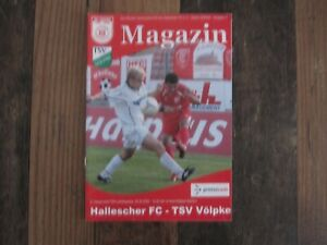 Prg 05/06 Hallescher FC - TSV Völpke Pokal