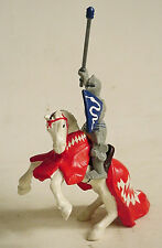 Bullyland Knight on Rearing Horse Action Figure