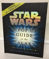 Star Wars Pop Up Guide To The Galaxy Promotional Item Not For Sale Book Limited