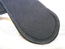 4 x Slipeinlagen mini waschbar schwarz 100% CO Bio Molton beidseitig verwendbar