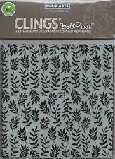 """Foliage Bold Prints"" Cling Stamp by Hero Arts"
