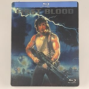 Rambo First Blood Blu-ray Best Buy Exclusive SteelBook US Import Region A New