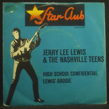 """7"""" JERRY LEE LEWIS - high school confidential / lewis' boogie, Star-Club"""