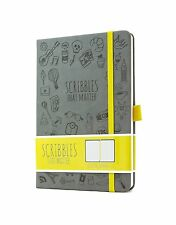 Scribbles That Matter - Dotted Journal Notebook Diary A5 - Elastic Band - Bea...