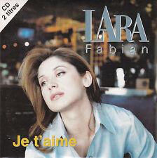 CD:LARA FABIAN--JE T'AIME--1997