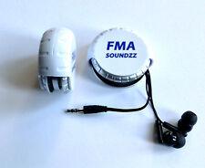 FMA SOUNDZZ Windi Wind-Up Universel robuste Case comprend écouteurs/écouteurs.