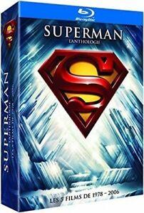 Superman Anthologie - integrale des films - Blu Ray - Neuf - Edition FR