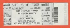 ORIG. ticket Audi Cup USA 2016 real madrid-bayern munich rara vez!!!