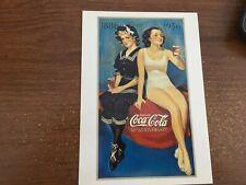Coca Cola  50th Anniversary POST CARD REPRINT CONTINENTAL SIZE