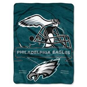Philadelphia Eagles 60x80 Plush Raschel Throw Blanket Prestige Design [NEW]