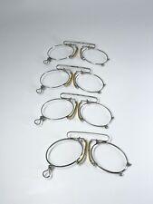 Lunette Or Binocle Gold Filled Silver Old Ancien Lorgnette Spectacle Vintage