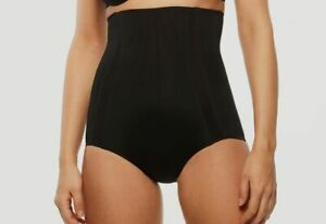 $70 Chantelle Women's Black Ultra Doubled Lined Shaping High Waist Panty Size S