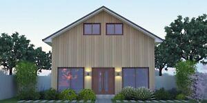 Rosemei East-West Skye Barn 1½ storey, 3 Bedroom, 2 Bathroom 157.6m² home.