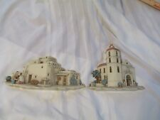 Vintage Southwest Burwood Products Wall Decor Mission Adobe House Home Interiors