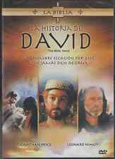SEALED - La Historia De David DVD NEW La Bible : David SHIPS NOW !