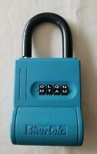 Key Lock Box Shurlok Key Storage Sl100w Blue Realtor Lockbox Real Estate