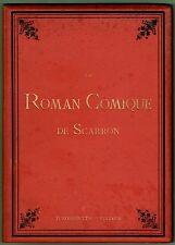 Roman Comique de Scarron, peint JB Pater, J Dumont le Romain, Tiburce Mare, 1883