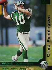 205 Chad Pennington New York Jets Skybox 2000 Rookie