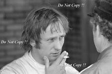 Chris Amon Matra F1 Portrait 1971 Photograph